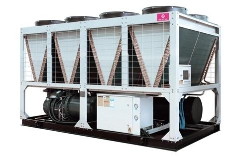 Модульные чиллеры (CHILLERS) с воздушным охлаждением конденсатора (винтовой компрессор)